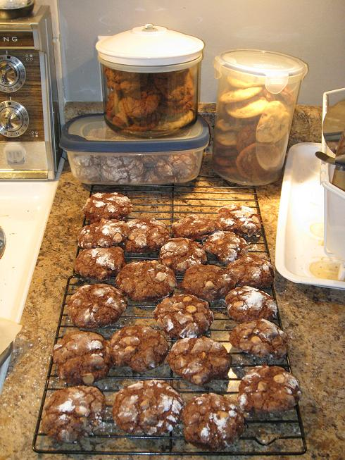 3 batches of delicious cookies!