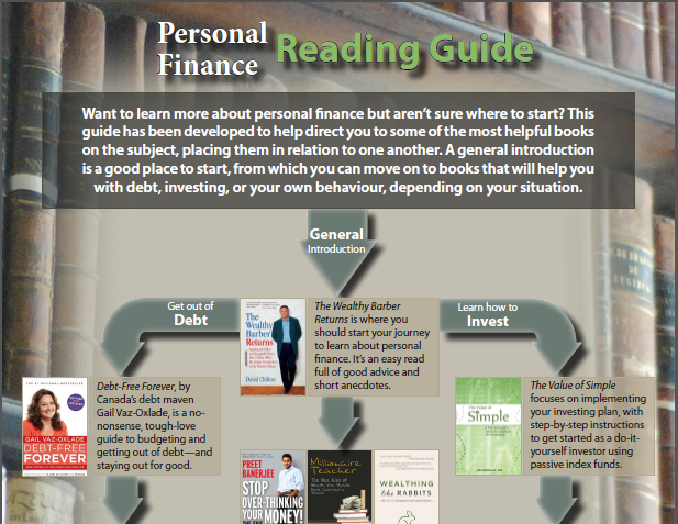 canadian personal finance book guide blessed by the potato