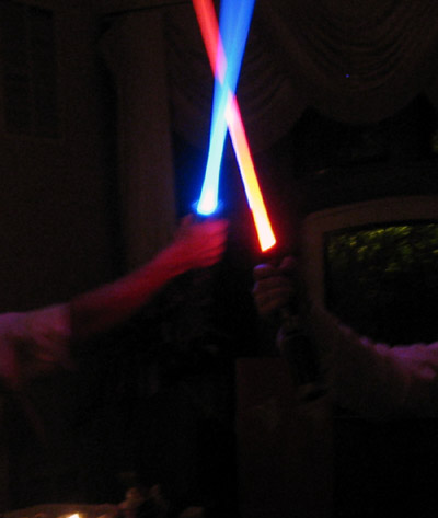 Force FX Lightsaber duel